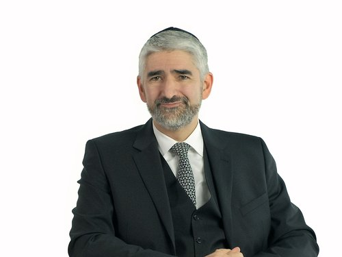 Portrait Rabbiner Julian-Chaim Soussan